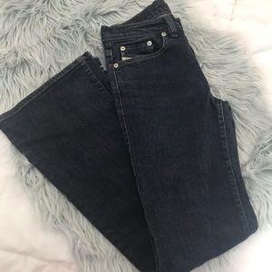 Diesel button fly mid rise flare jeans 26